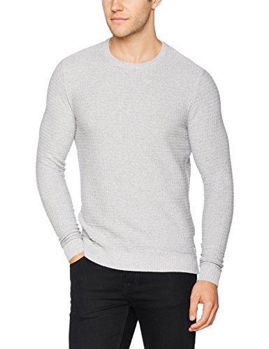 tom tailor herren pullover structured sweater. Black Bedroom Furniture Sets. Home Design Ideas
