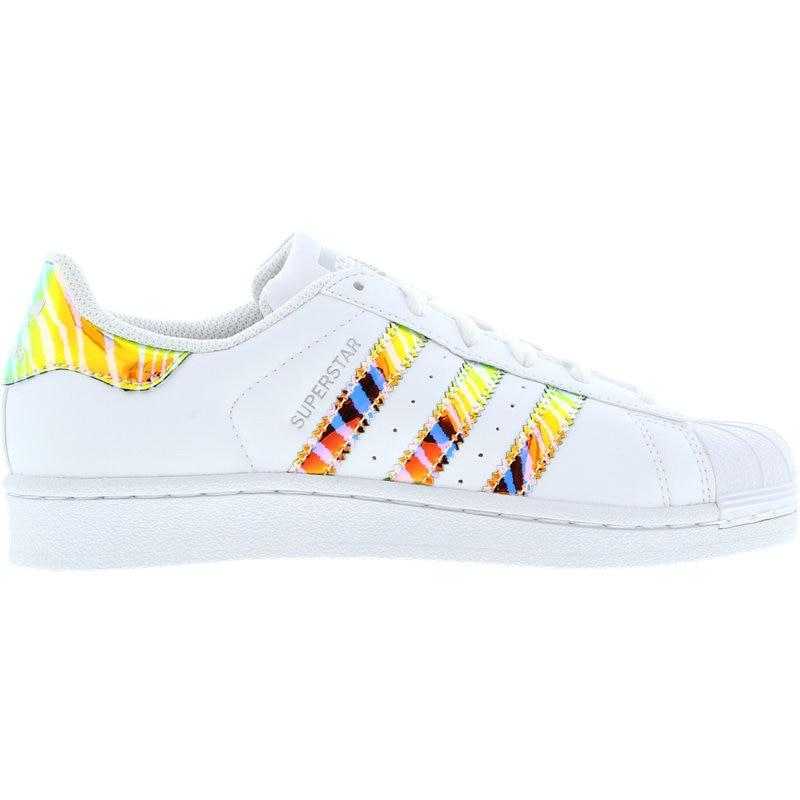 adidas superstar iridescent 3d - grade school shoes