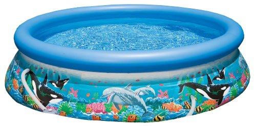 intex easy set aufstellpool ocean reef mit pumpe. Black Bedroom Furniture Sets. Home Design Ideas