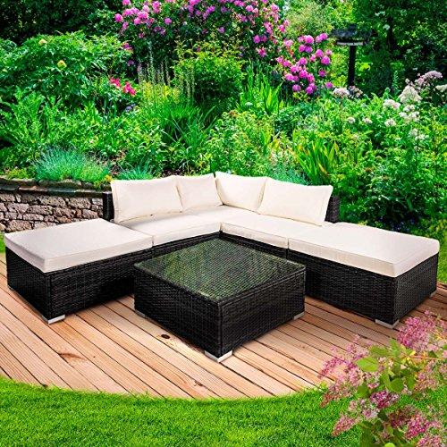 poly rattan gartenm bel lounge m bel sitzgarnitur gartengarnitur sitzgruppe sofa grace. Black Bedroom Furniture Sets. Home Design Ideas