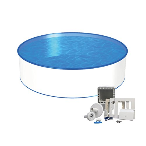 Stahlwand pool 4 00m tiefe 1 20m stahlmantel for Pool innenfolie
