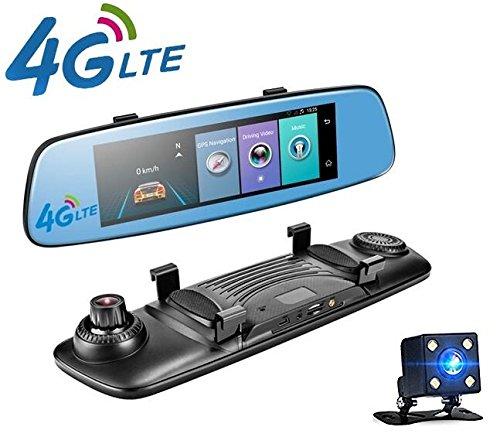 yuyitec 4 g auto dvr kamera ca 20 cm touch bildschirm. Black Bedroom Furniture Sets. Home Design Ideas