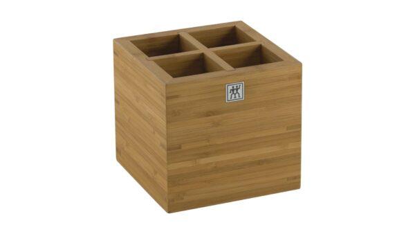 Die Tool-Box von ZWILLING zeichnet sich durch eine hohe Effizienz bei der Aufbewahrung Ihrer Küchenutensilien aus. Sie verfügt über vier einzelne Abteilungen